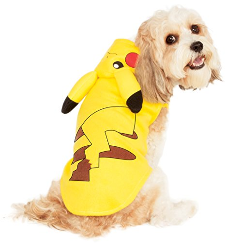 Rubie's Pikachu Pet Hoodie, Large -
