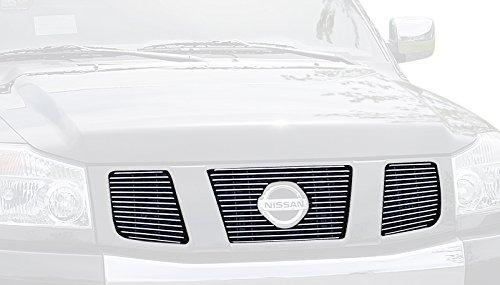 [Carriage Works 42163 Black Billet Aluminum Grille] (Nissan Pathfinder Carriage)