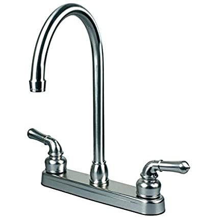 Rv Mobile Home Kitchen Sink Faucet Chrome 14 5 Tall Spout