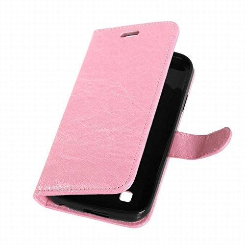 Yiizy Leather Style Lg Slot Pu Case K3 Shell Flip Cards Bumper Design Protective Stand Ls450 Wallet Skin Cover Frame Housing Slim Premium Shell K100 pink Case Flap Case Cover rqrFWZ6