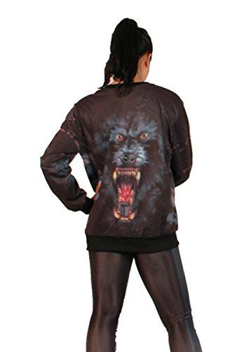 THENICE - Sudadera - Manga Larga - para mujer Wild beast