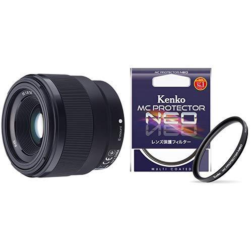 ソニー デジタル一眼カメラα[Eマウント]用レンズ SEL50F18F (FE 50mm F1.8) & Kenko カメラ用フィルター MC プロテクター NEO 49mm レンズ保護用 724903 レンズ保護フィルター49mmセット  B07QFDXXS9