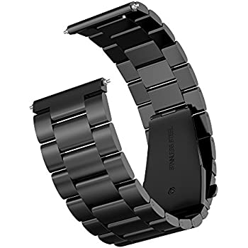 Amazon.com: Gear S2 Watch Band, Fintie Solid Stainless Steel ...