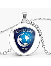 Necklace with circle pendant with Al-Hilal club logo - Unisex