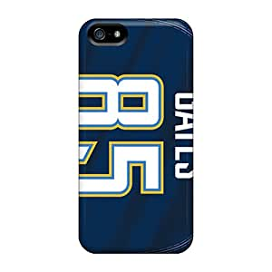 Topcases Iphone 5/5s Hybrid Tpu Case Cover Silicon Bumper San Diego Chargers