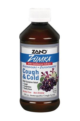 Zand Zumka toux et le rhume avec de sureau, 8-once