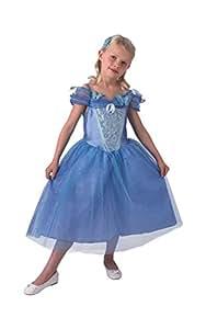 Rubies - Disfraz para niña, diseño Cenicienta de Disney, talla L (3610284)