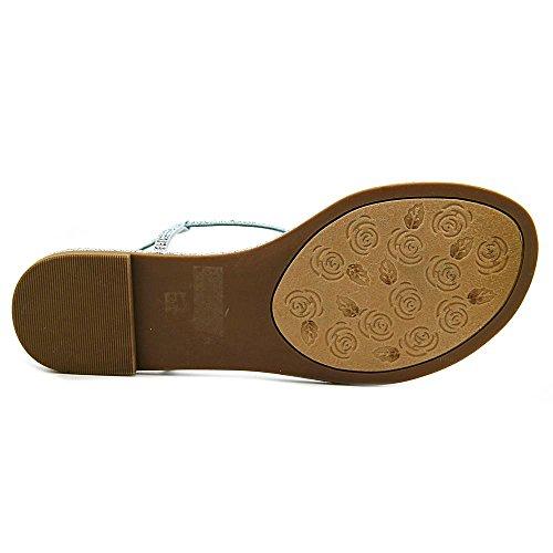 Kinesisk Tvätt Kvinna Glitterati Mikro Sandal Blå Mikro