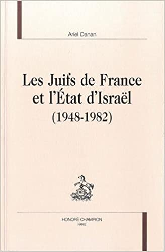 Livre gratuits en ligne Les Juifs de France et l'État d'Israël (1948-1982). pdf