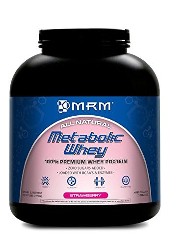 Metabolic Whey, Strawberry-Banana, 5.0 lbs (2270 g) by MRM by MRM