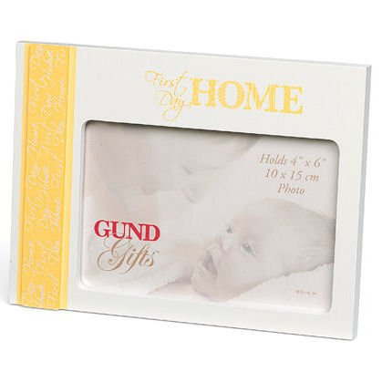 First Day Home Frame Gund Baby