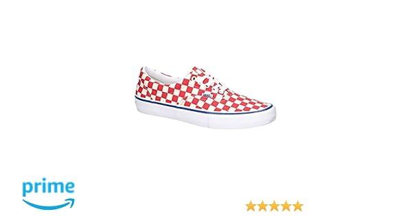 4c35f318290 Amazon.com  Vans Era Pro (Checkerboard) Rococco Red Men s 11  Sports    Outdoors
