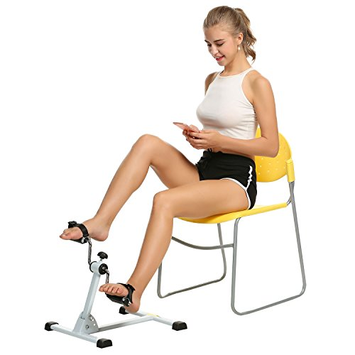 Ancheer Mini Exercise Bike Arm and Leg Pedal Exerciser