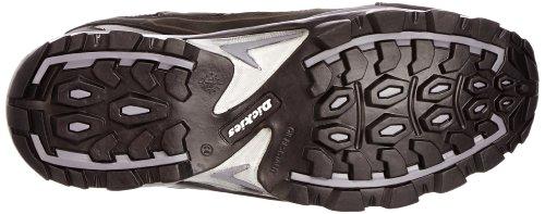 Dickies Alford - Zapatos de seguridad de sintético para hombre negro y gris