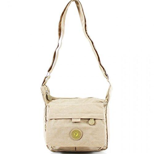 Cross Ladies Light Shoulder Satchel Body Tote Bag Weight Mini Beige Handbag Messenger Women wSS4rZOq