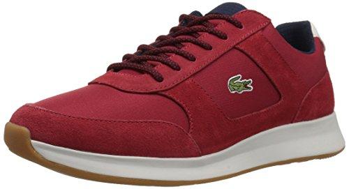 Lacoste Men's Joggeur 417 1 Sneaker, Red/Navy, 7.5 M US