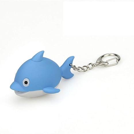 Amazon.com: Yeefant - Llavero pequeño con diseño de delfín ...