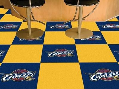 Exclusive By FANMATS NBA - Cleveland Cavaliers Carpet Tiles