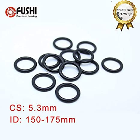 Pack of 50 1//8 Thick 3//4 Pipe Size Neoprene 1.06 ID Pressure Class 150# Sterling Seal CRG7106.750.125.150X50 7106 Rubber 60 Durometer Ring Gasket