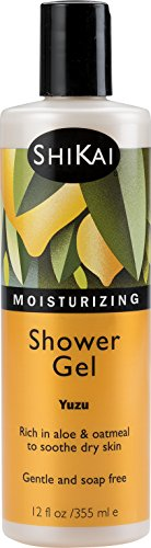 Shikai - Daily Moisturizing Shower Gel, Rich in Aloe Vera & Oatmeal to Leave Skin Noticeably Healthier (Yuzu, 12 - Wash Body Herbal Moisturizing
