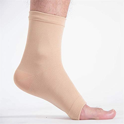 JACKBELLB Sports Ankle Protective Sleeve Brace Compression Support Sleeves Plantar Fasciitis Foot Socks Ankle Supports B