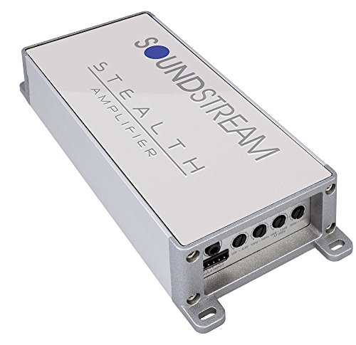 Soundstream SM4.10000D 1000W Max 4 Channel Stealth Series Marine Grade Class D Amplifier - SM4.1000D