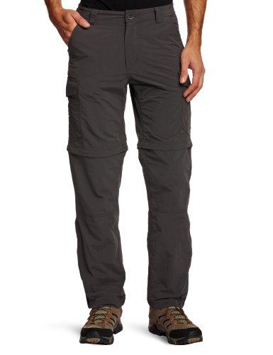 Craghoppers NosiLife Mens Convertible Trousers Regular Blacks 40