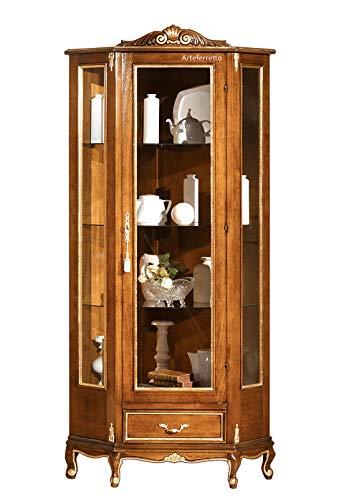 Mobile vetrina ad Angolo in Stile Classico, Raffinati ...