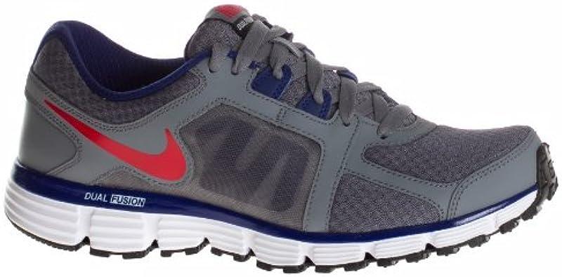 No se mueve motivo Mentalmente  Amazon.com   Nike Dual Fusion St 2 - Mens - Cool Grey/Loyal Blue/University  Red Size 7.5   Running