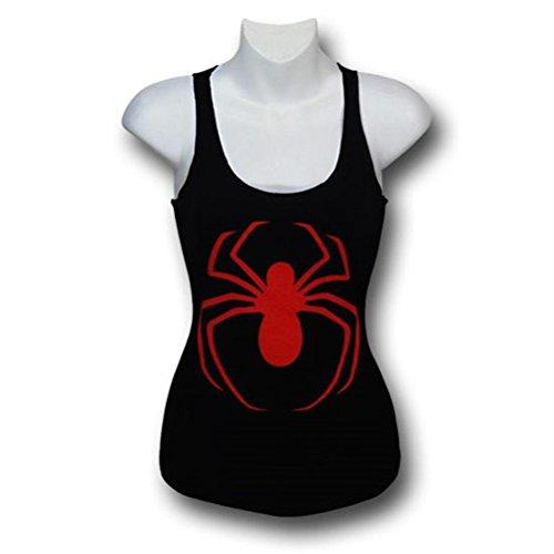 Ultimate Spiderman Women's 30 Single Tank Top- Slim XXL