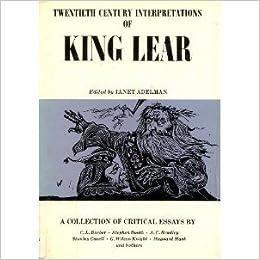 king lear new critical essays