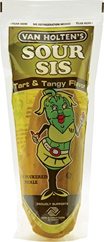 Van Holten's - Pickle-In-A-Pouch - Sour Sis, 12 Pickles