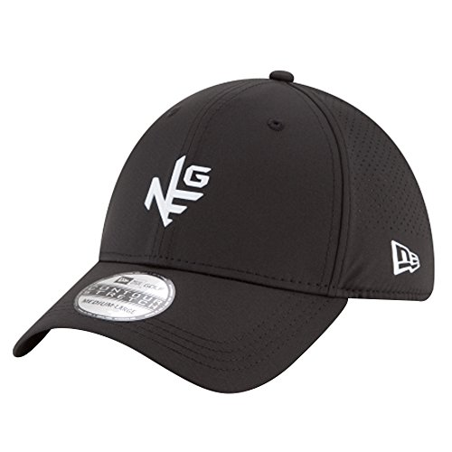 New Era Prolight 39Thirty Stretch Fit Golf Cap 2018 Black Medium/Large (Stretch New Era)