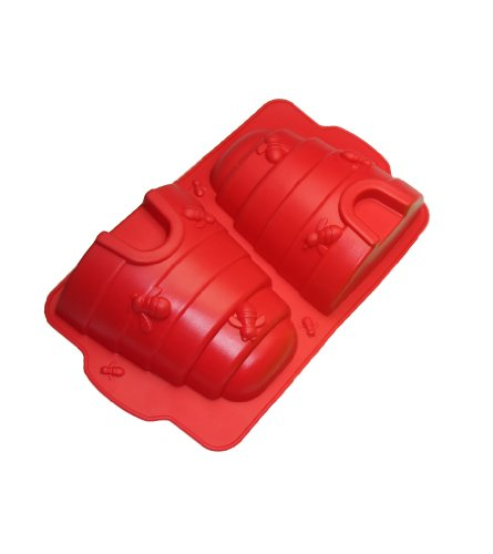 UPC 799599384133, Better Value Bee Hive Cake Pan (30X19X55, red)