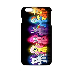 Angl 3D Case Cover Cartoon Cute My Little pony Phone Case for iPhone6 plus