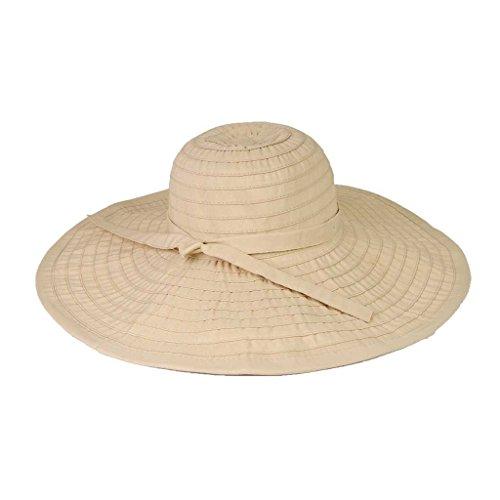 (Ribbon Crusher Travel Hat - 5 inch brim - HS358)