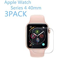 [3PACK] Apple Watch Series 4 40mm Tempered Glass Screen...