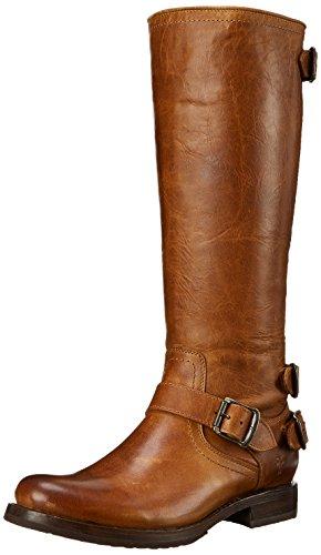 Freak Womens Veronica Back-zip Boot Cognac Antico Pull-up-77552
