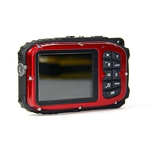PowerLead PLDH13 2.7 Inch LCD Cameras 16 MP Digital Camera Underwater 10m Waterproof Camera+ 8x (Waterproof Camera With Zoom)