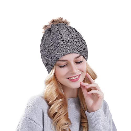90c54a18da0 Phaiy Beanie for Men Women Unisex Cuffed Plain Skull Knit Hat and ...