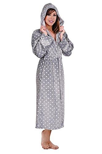 Hoodie Robe Plush Hooded Robe Spa Bathrobe Hoody Robe Long Robe Plus Size Avail.