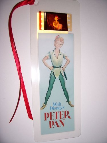 PETER PAN Movie Film Cell Bookmark memorabilia Compliments poster dvd book