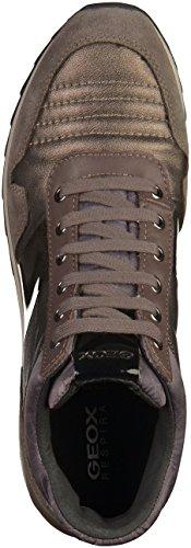Calzado deportivo para mujer, color Negro , marca GEOX, modelo Calzado Deportivo Para Mujer GEOX D ANEKO B ABX B Negro Taupe