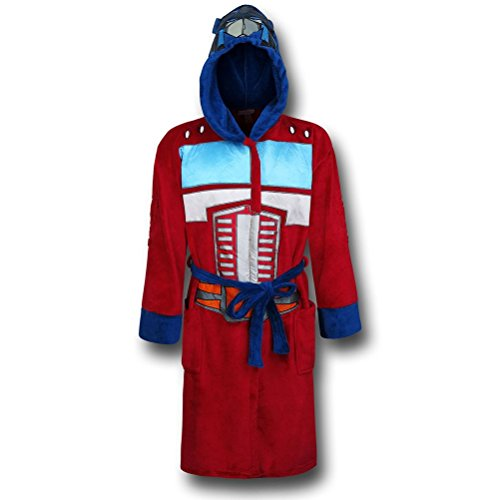 Transformers Optimus Prime Adult Costume Robe]()