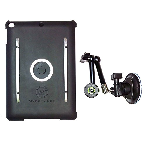 Flex Suction iPad Mount Kit by MYGOFLIGHT - iPad Mini 1/2/3 by MYGOFLIGHT