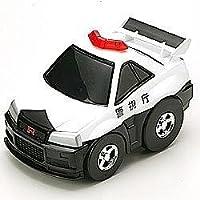 ジャンボチョロQ スカイラインGT-R(R34) パトカー チョロQ25周年記念モデルの商品画像