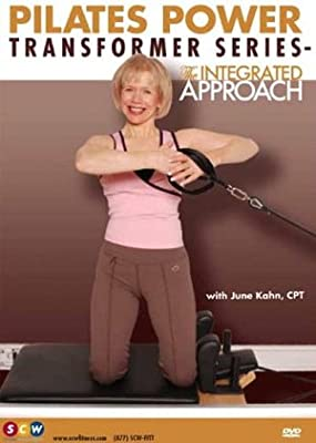 Pilates Power Transformer Series DVD: The Integrated Approach by June Kahn, Pilates Reformer, Pilates Tower, Pilates Cadillac, Stretching, Strengthening, Core Strength, Better Posture