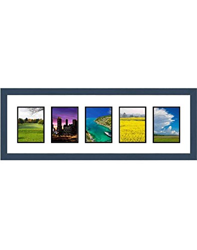 Amazon.com - Frames By Mail Five Square Opening Collage Frame for ...