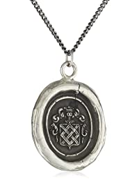 "Pyrrha""talisman"" Sterling Silver Inseparable Necklace"