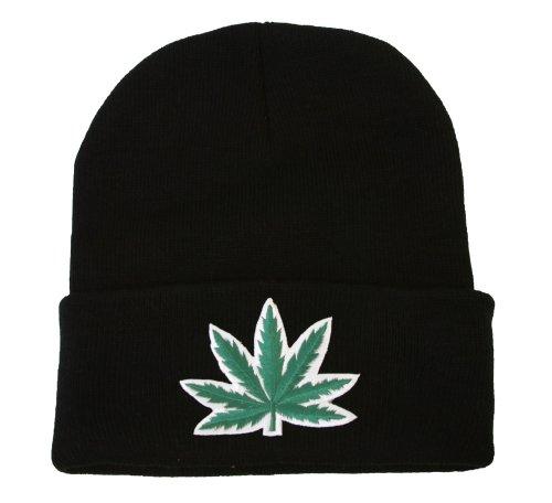 Beanie-Marijuana-Leaf